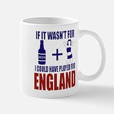 Fun England Football supporter tee Mugs