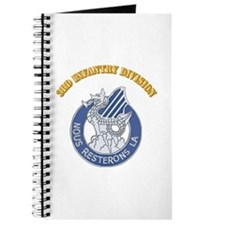 DUI - 3rd Infantry Division with Text Journal