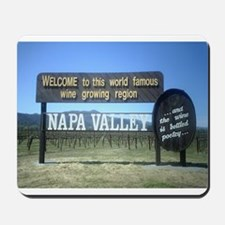 Napa Valley T's Mousepad