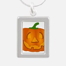 Halloween Jack-o-Lantern Pumpkin Necklaces