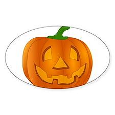 Halloween Jack-o-Lantern Pumpkin Decal