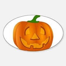 Halloween Jack-o-Lantern Pumpkin Decal