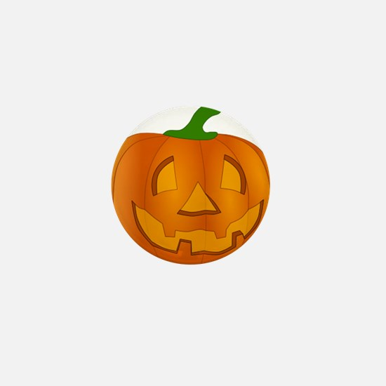 Halloween Jack-o-Lantern Pumpkin Mini Button (10 p