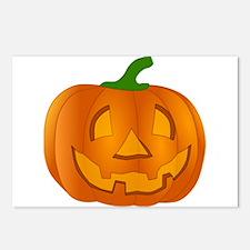 Halloween Jack-o-Lantern Pumpkin Postcards (Packag