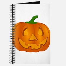 Halloween Jack-o-Lantern Pumpkin Journal