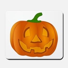 Halloween Jack-o-Lantern Pumpkin Mousepad