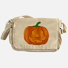 Halloween Jack-o-Lantern Pumpkin Messenger Bag