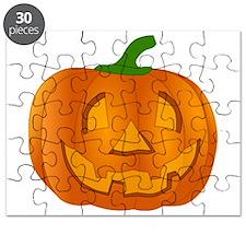 Halloween Jack-o-Lantern Pumpkin Puzzle