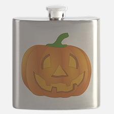 Halloween Jack-o-Lantern Pumpkin Flask