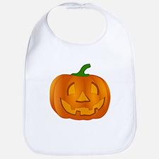 Halloween Jack-o-Lantern Pumpkin Bib