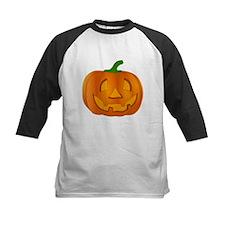 Halloween Jack-o-Lantern Pumpkin Baseball Jersey