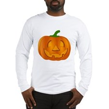 Halloween Jack-o-Lantern Pumpkin Long Sleeve T-Shi