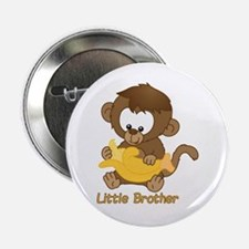 """Little Brother Monkey 2.25"""" Button"""