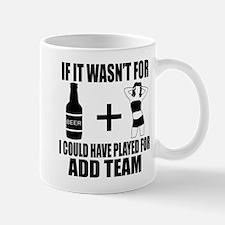 Funny customizable Sports team design Mugs