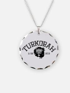 Distressed Hanukksgiving Necklace