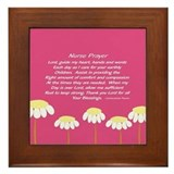 Nursing school graduate Framed Tiles
