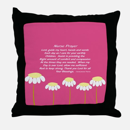Nurse Prayer Blanket PILLOW 2 Throw Pillow