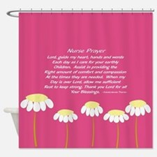 Nurse Prayer Blanket PILLOW 2 Shower Curtain