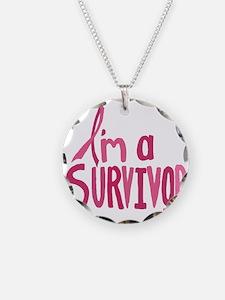 Im a Survivor Necklace