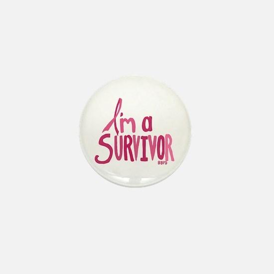 Im a Survivor Mini Button