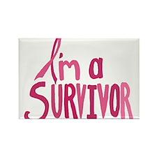 Im a Survivor Magnets