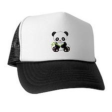 Cute Baby Bamboo Panda Trucker Hat