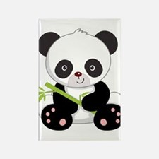 Cute Baby Bamboo Panda Rectangle Magnet