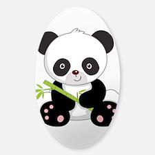 Cute Baby Bamboo Panda Decal