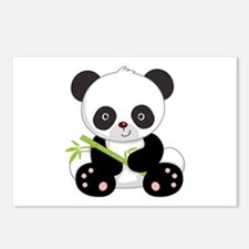 Cute Baby Bamboo Panda Postcards (Package of 8)