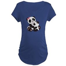 Cute Mom & Baby Panda Bears T-Shirt