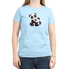 Cute Mom & Baby Panda Bears T-Shirt