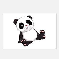 Cute Baby Panda Bear Postcards (Package of 8)