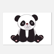 Adorable Panda Postcards (Package of 8)