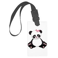 Adorable Panda Luggage Tag