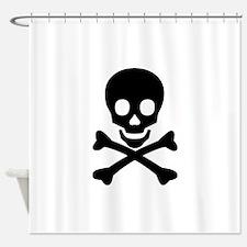 Skull & Crossbones Shower Curtain