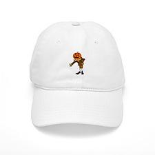 Halloween Jack-o-Lantern Pumpkin Head Baseball Baseball Cap