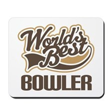 Worlds Best Bowler Mousepad