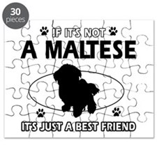 My Maltese is more than a best friend Puzzle