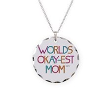 Worlds Okay-est Mom Necklace