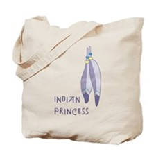 Indian Princess Tote Bag
