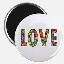 Love & Flowers Magnet