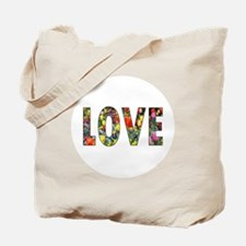 Love & Flowers Tote Bag