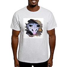 Virginia Opossum Ash Grey T-Shirt