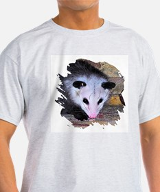 Virginia Opossum Ash Grey T-Shirt