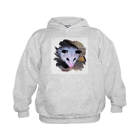 Virginia Opossum Kids Hoodie