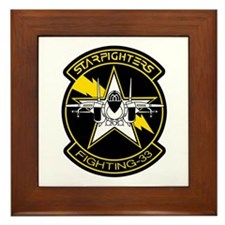 VF-33 Starfighters Framed Tile