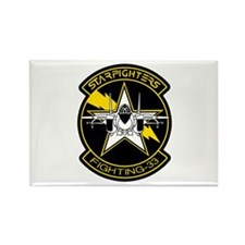 VF-33 Starfighters Rectangle Magnet