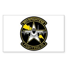 VF-33 Starfighters Rectangle Decal