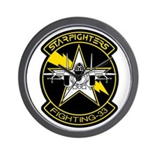 VF-33 Starfighters Wall Clock
