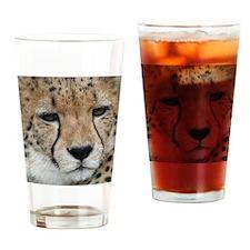 Cheetah007 Drinking Glass
